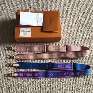 Authentic LV Multi Pochette Pink Strap